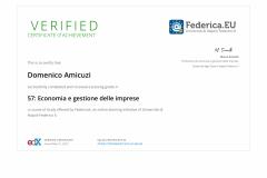 Economia e Gestione delle Imprese - Università Federico II  di Napoli
